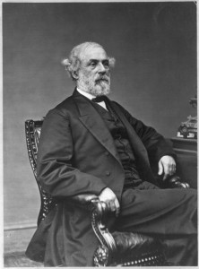 Robert E Lee,  President, Washington College 1869